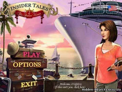 скачать игру Insider Tales: The Stolen Venus 2